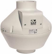 Radiální potrubní ventilátor Vortice CA 125-V0 D