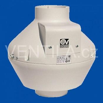 Radiální potrubní ventilátor Vortice CA 100-V0 D