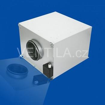 Zvukově izolovaný ventilátor do potrubí Ruck ISOTX 200 E2 10