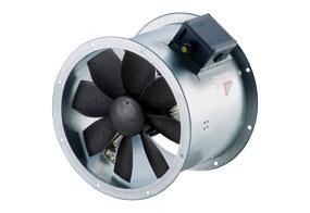 Axiální potrubní ventilátor DZR 45/6 B E Ex e