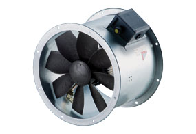 Axiální potrubní ventilátor DZR 50/6 B E Ex e