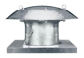 Axiální střešní ventilátor DZD 25/2 B E Ex e