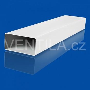 Plastové potrubí hranaté 90x220/2000 HP