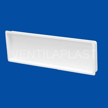 Plochá plastová záslepka VP 55X110 HZ