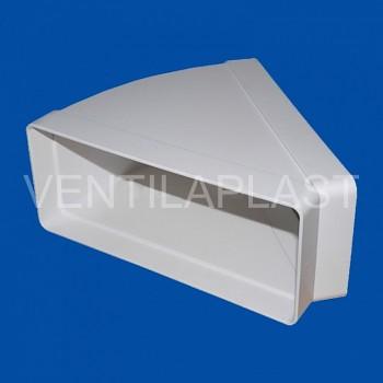 Plochá horizontální odbočka VP 90x220/45 HOP