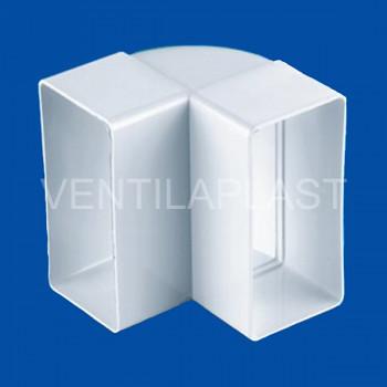 Plochá vertikální odbočka VP 90x220-90 HO