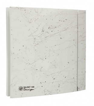 Soler&Palau SILENT 100 DESIGN Marble White CZ 4C tichý