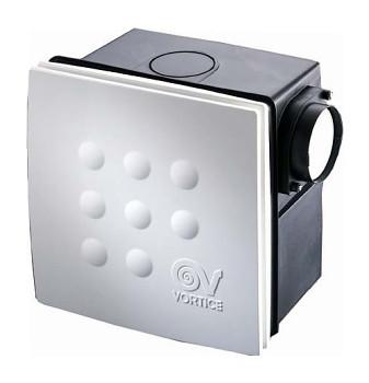 Radiální ventilátor do koupelny Vortice Quadro Micro 100 I T ES