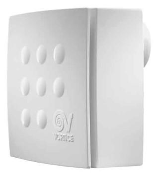 Radiální ventilátor do koupelny Vortice Quadro Micro 100 THCS