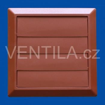 Větrací žaluzie cihlová VP 125/200x200 HMZc