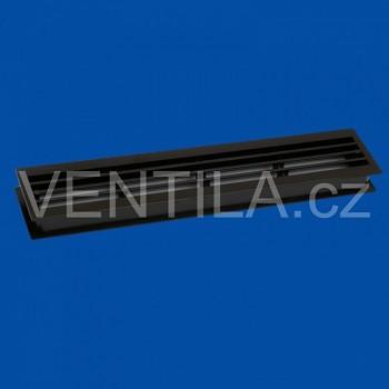 Dveřní mřížky VP MV 430/2 h - tm. hnědé (2 ks v balení)