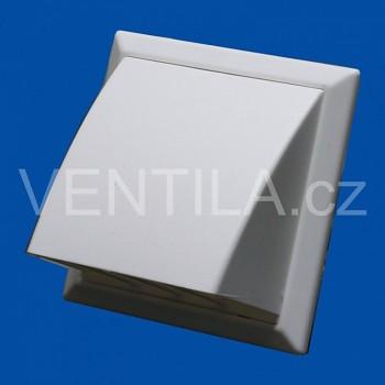 Větrací mřížka protidešťová bílá VP 125/200x200 HPMb