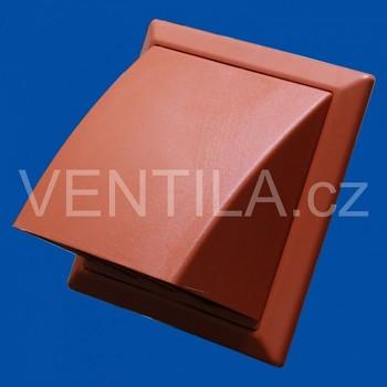 Větrací mřížka protidešťová cihlová VP 100/154x154 HPMc