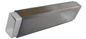Izolované hranaté potrubí SET 55x110/1500