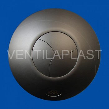 Koupelnový ventilátor ICON 15 antracitový