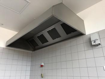 Gastro digestoř nástěnná 3400x800x450/400