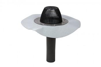 AM střešní vpusť PVC  Ø 75, světle šedá RAL 7040