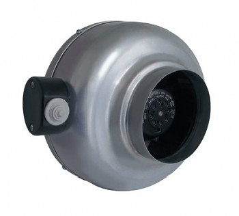 S&P RM 160 NK radiální ventilátor kovový